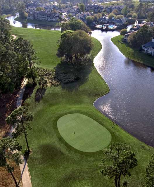 Windsor Parke GC Aerial View Of The Finishing Hole