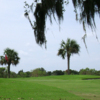 A view of a green at Windy Harbor Golf Club