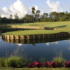 View of the 17th island green from THE PLAYERS Stadium Course at TPC Sawgrass